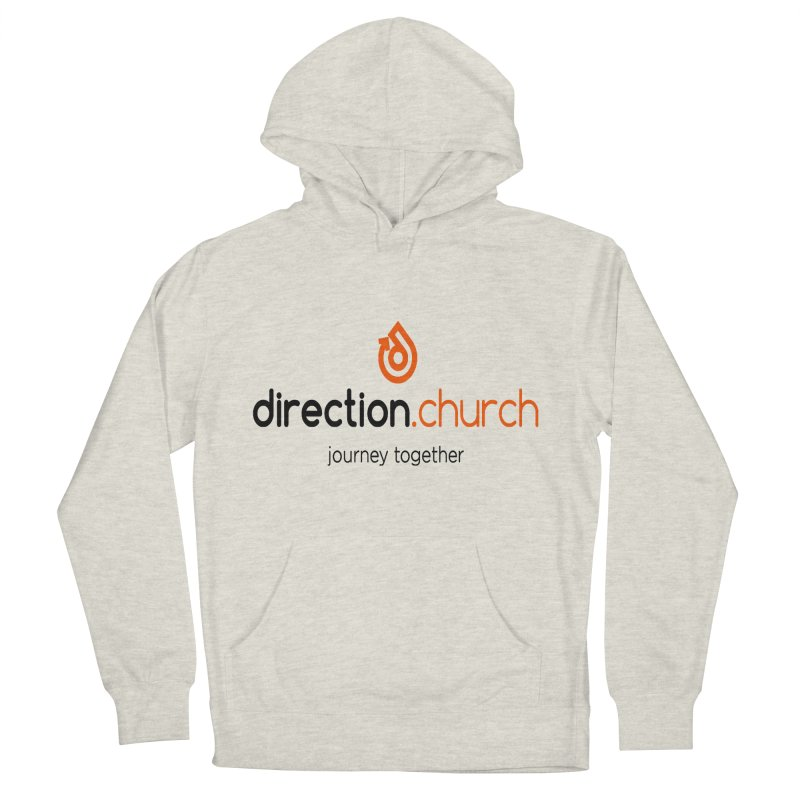 Full Color Logo Shirts Men's French Terry Pullover Hoody by direction.church gear