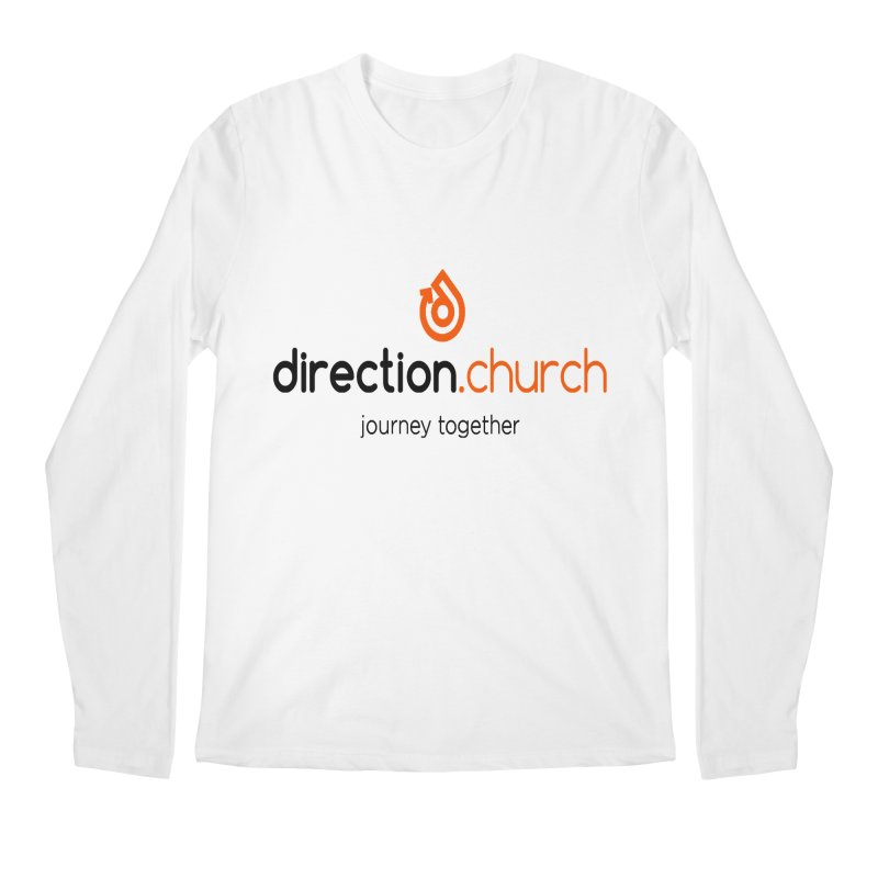 Full Color Logo Shirts Men's Regular Longsleeve T-Shirt by direction.church gear