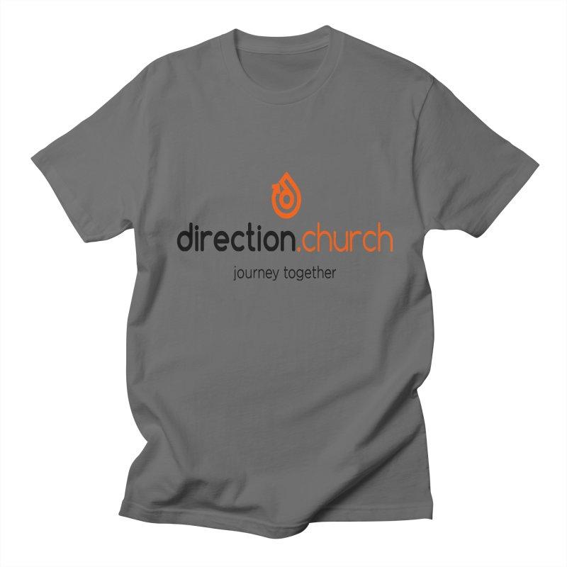 Full Color Logo Shirts Men's Regular T-Shirt by direction.church gear