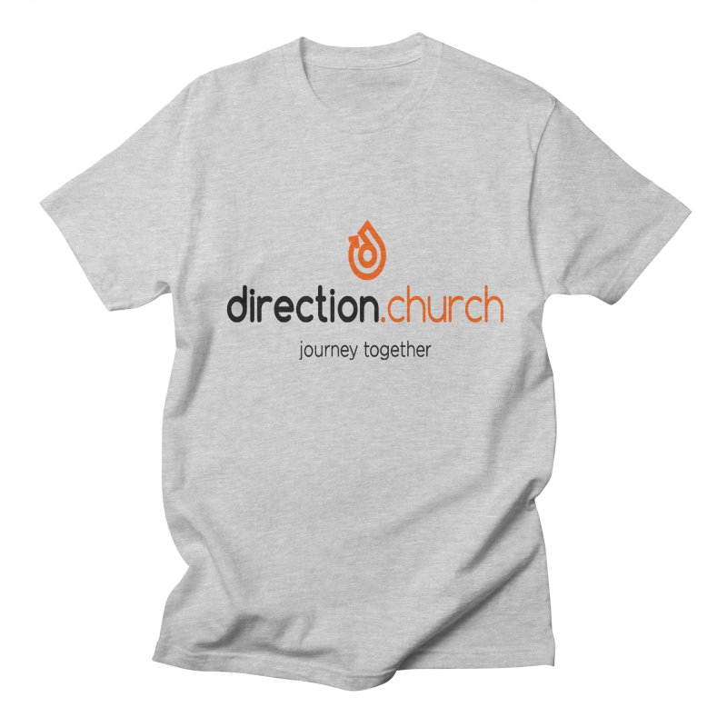 Full Color Logo Shirts Men's Regular T-Shirt by direction.church gear