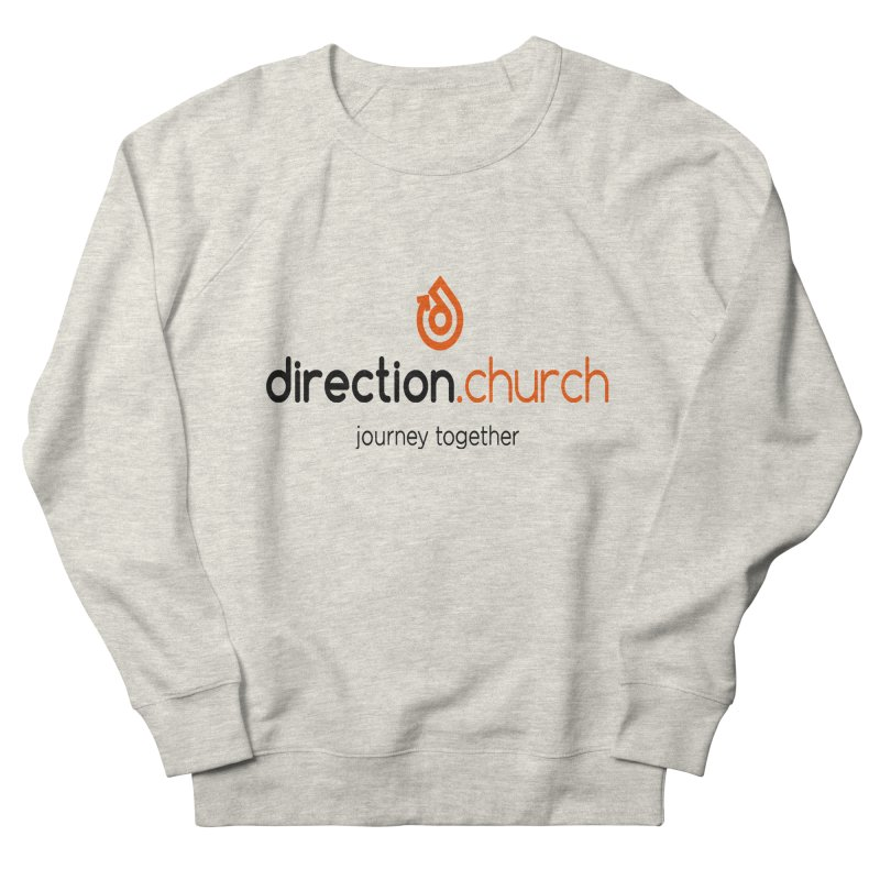 Full Color Logo Shirts Men's French Terry Sweatshirt by direction.church gear
