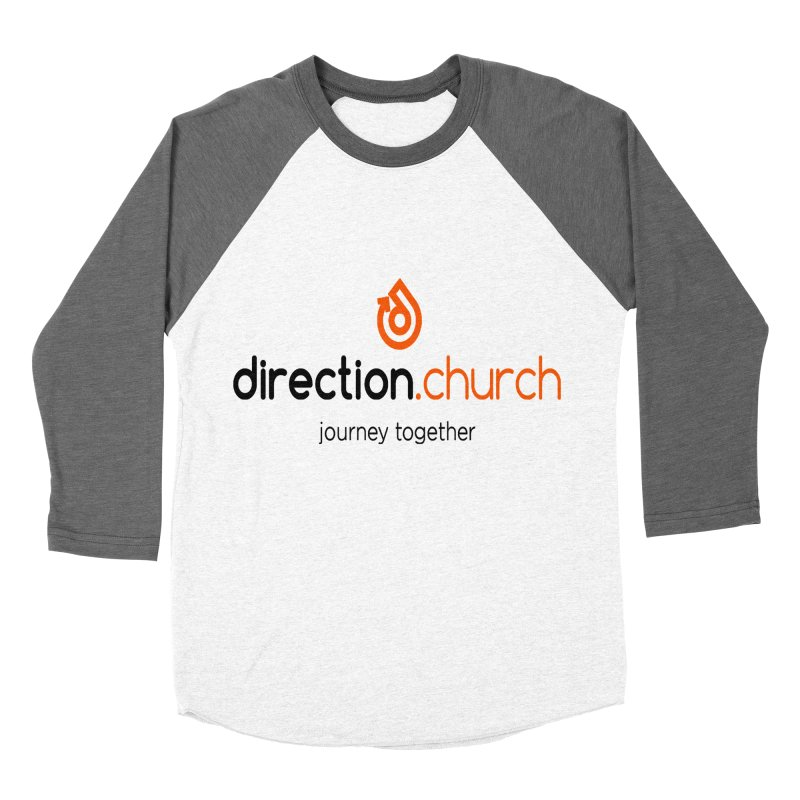 Full Color Logo Shirts Men's Baseball Triblend Longsleeve T-Shirt by direction.church gear