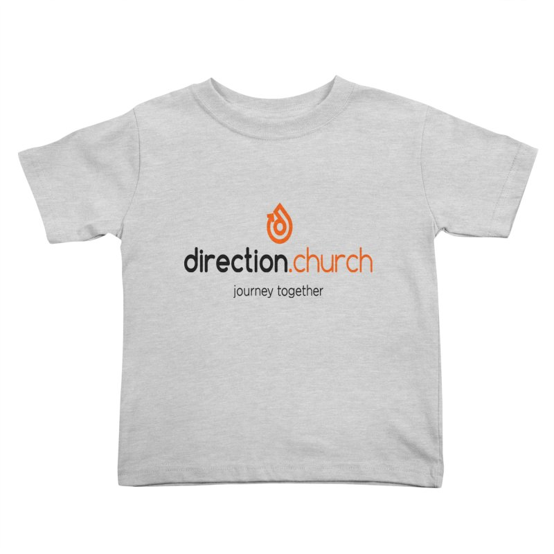 Full Color Logo Shirts Kids Toddler T-Shirt by direction.church gear