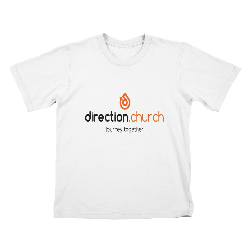 Full Color Logo Shirts Kids T-Shirt by direction.church gear
