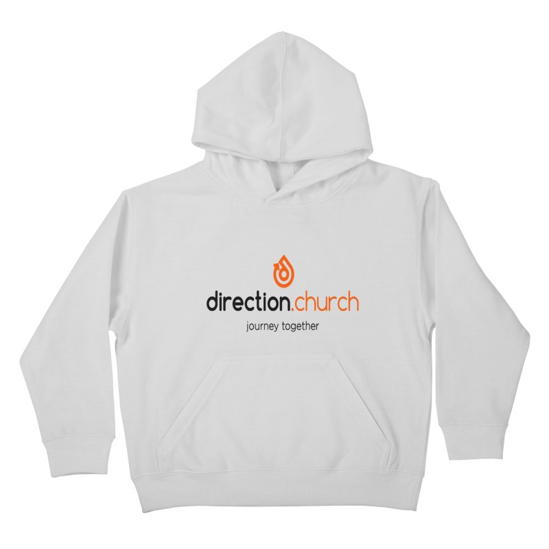 Full Color Logo Shirts Kids Pullover Hoody by direction.church gear