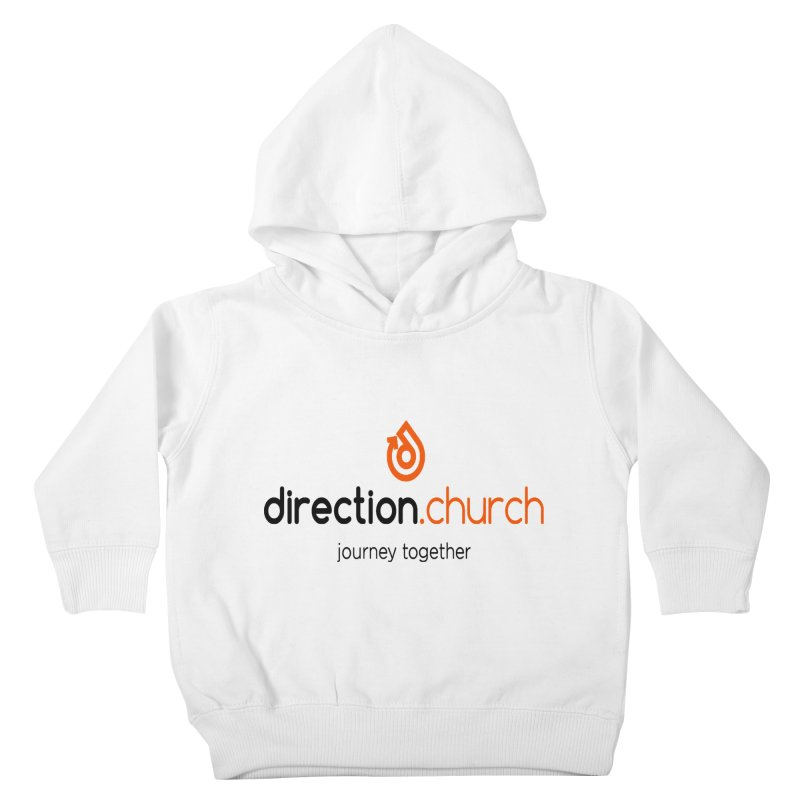 Full Color Logo Shirts Kids Toddler Pullover Hoody by direction.church gear