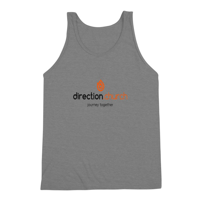 Full Color Logo Shirts Men's Triblend Tank by direction.church gear