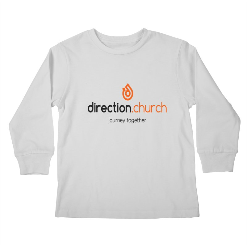 Full Color Logo Shirts Kids Longsleeve T-Shirt by direction.church gear
