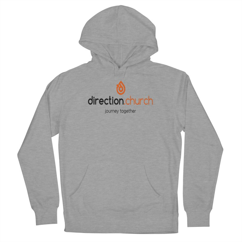 Full Color Logo Shirts Women's French Terry Pullover Hoody by direction.church gear