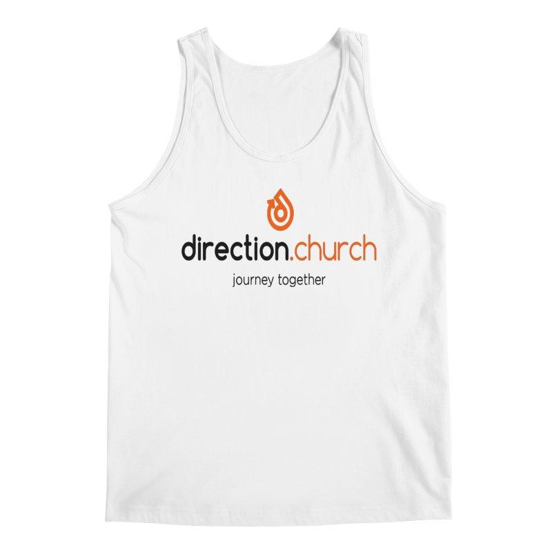 Full Color Logo Shirts Men's Regular Tank by direction.church gear