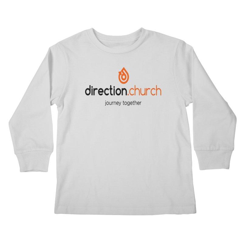 Full Color Logo Shirts Kids Longsleeve T-Shirt by direction.church gear