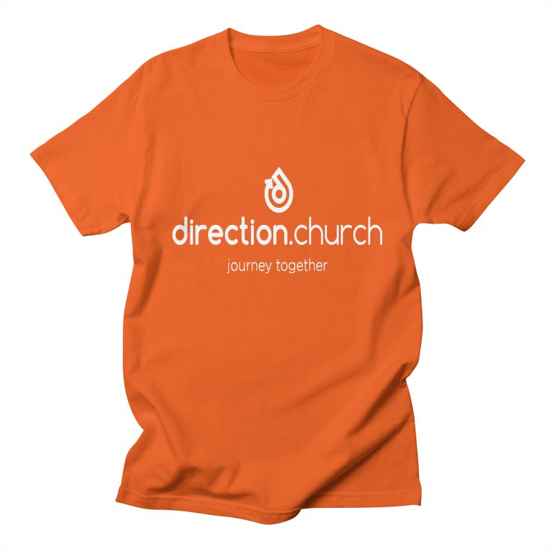 White Logo Shirts Women's Regular Unisex T-Shirt by direction.church gear