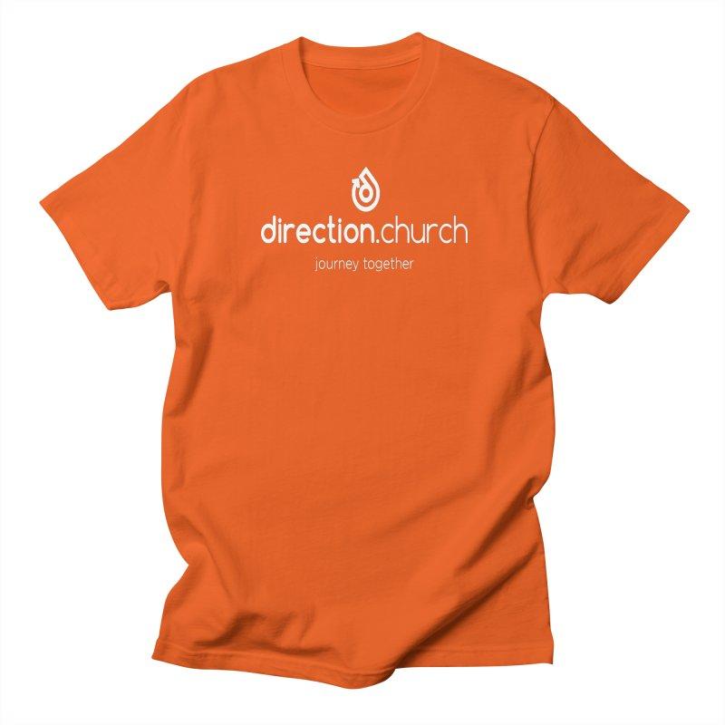 White Logo Shirts Women's Regular Unisex T-Shirt by direction.church gear