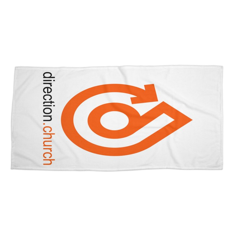 ACCESSORIES FULL Color Accessories Beach Towel by direction.church gear