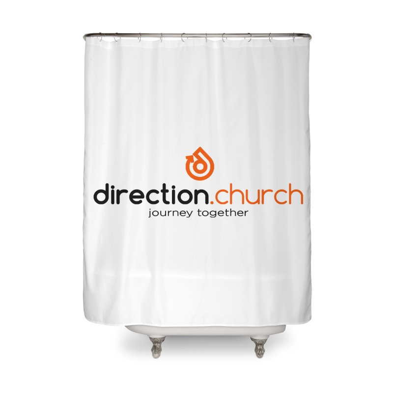 ACCESSORIES FULL Color Home Shower Curtain by direction.church gear