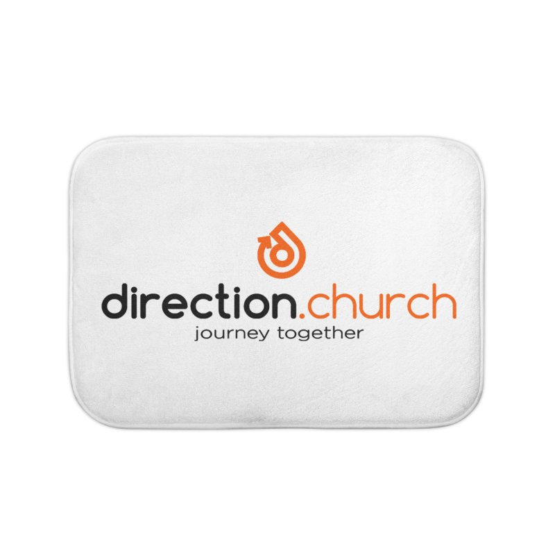 ACCESSORIES FULL Color Home Bath Mat by direction.church gear