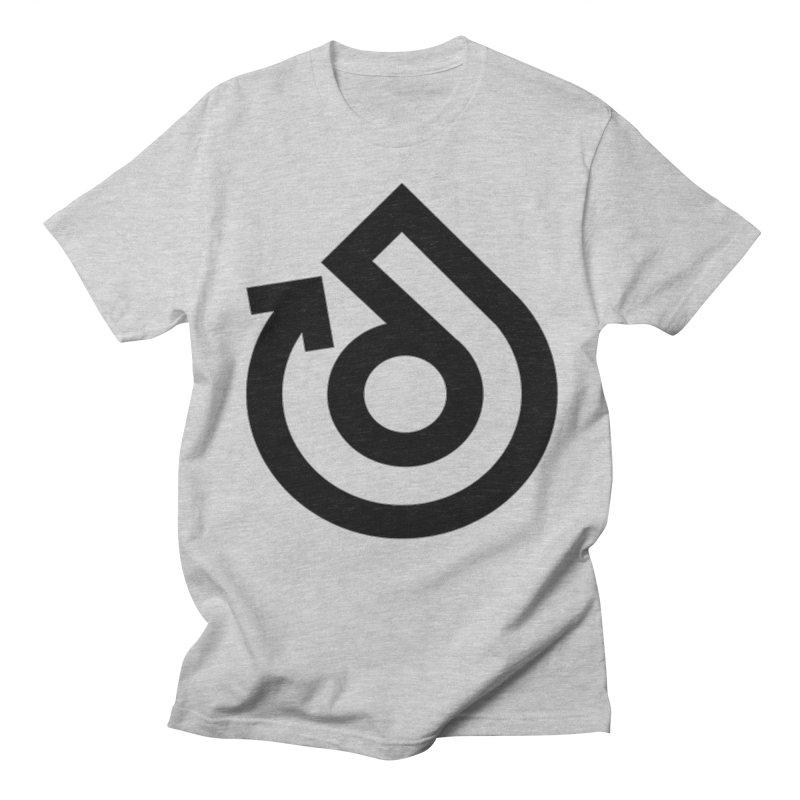 Full Logo Only Black Women's Regular Unisex T-Shirt by direction.church gear