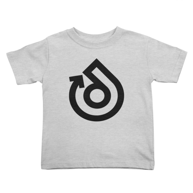 Full Logo Only Black Kids Toddler T-Shirt by direction.church gear