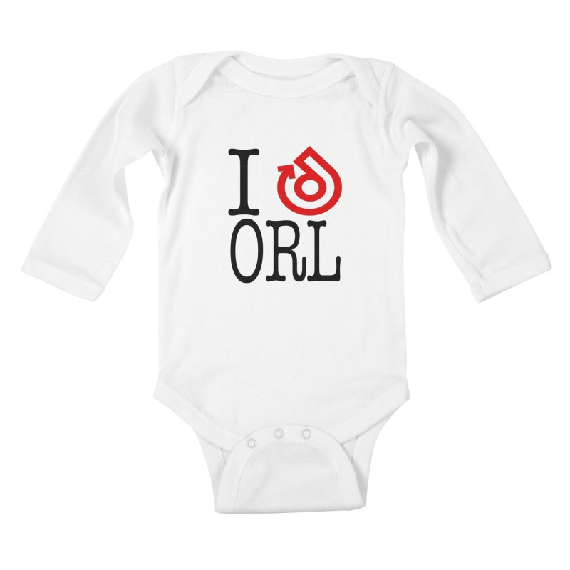 I heart ORL shirt Kids Baby Longsleeve Bodysuit by direction.church gear