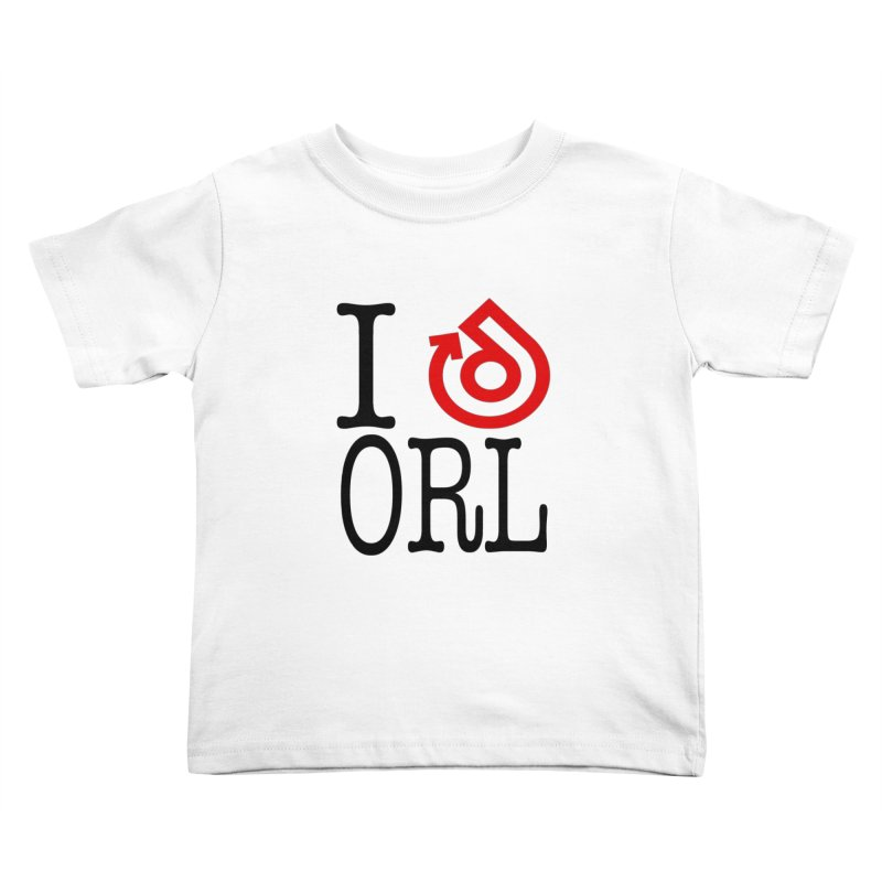 I heart ORL shirt Kids Toddler T-Shirt by direction.church gear