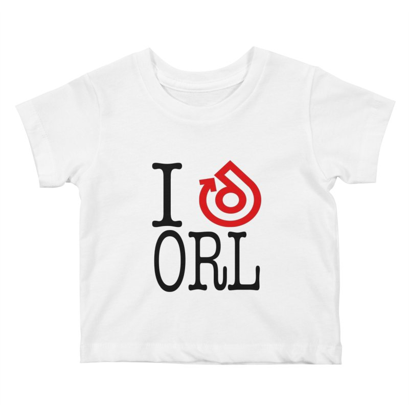 I heart ORL shirt Kids Baby T-Shirt by direction.church gear