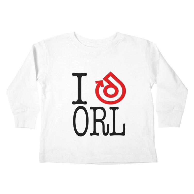 I heart ORL shirt Kids Toddler Longsleeve T-Shirt by direction.church gear