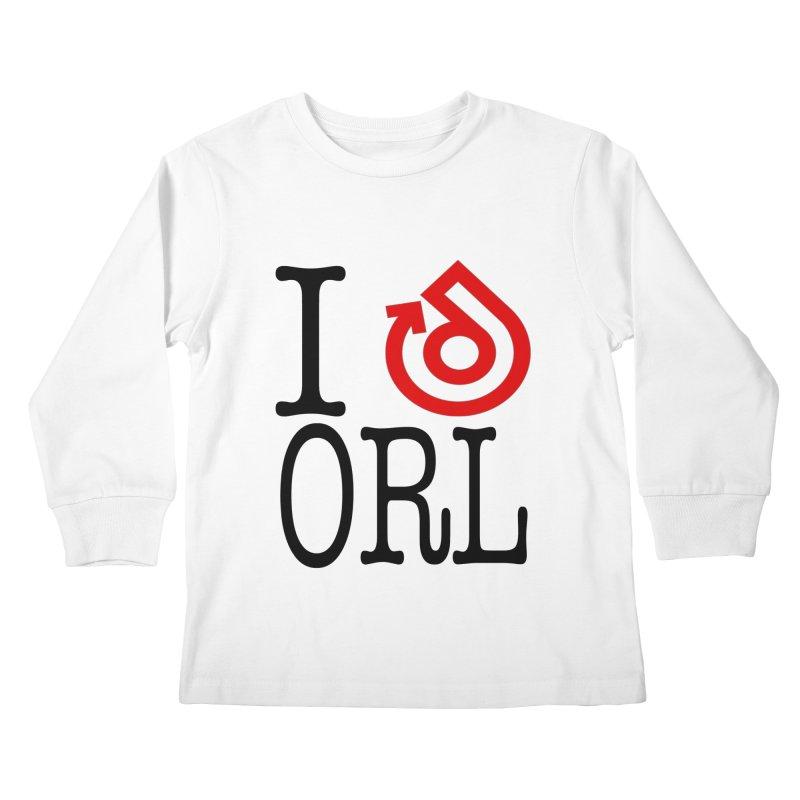 I heart ORL shirt Kids Longsleeve T-Shirt by direction.church gear