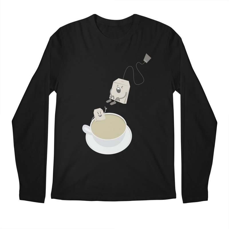Tea for two Men's Longsleeve T-Shirt by dirtelawndre's Artist Shop