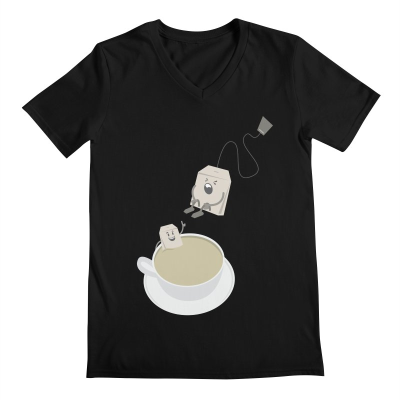 Tea for two Men's V-Neck by dirtelawndre's Artist Shop