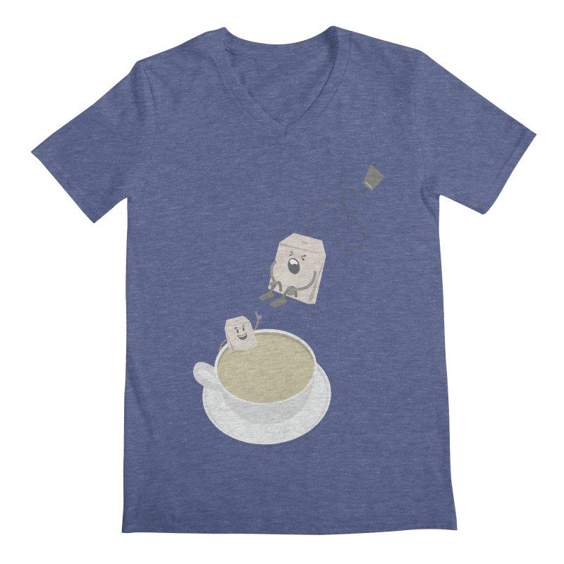 Tea for two Men's V-Neck by dirtelawndre's Artist Shop