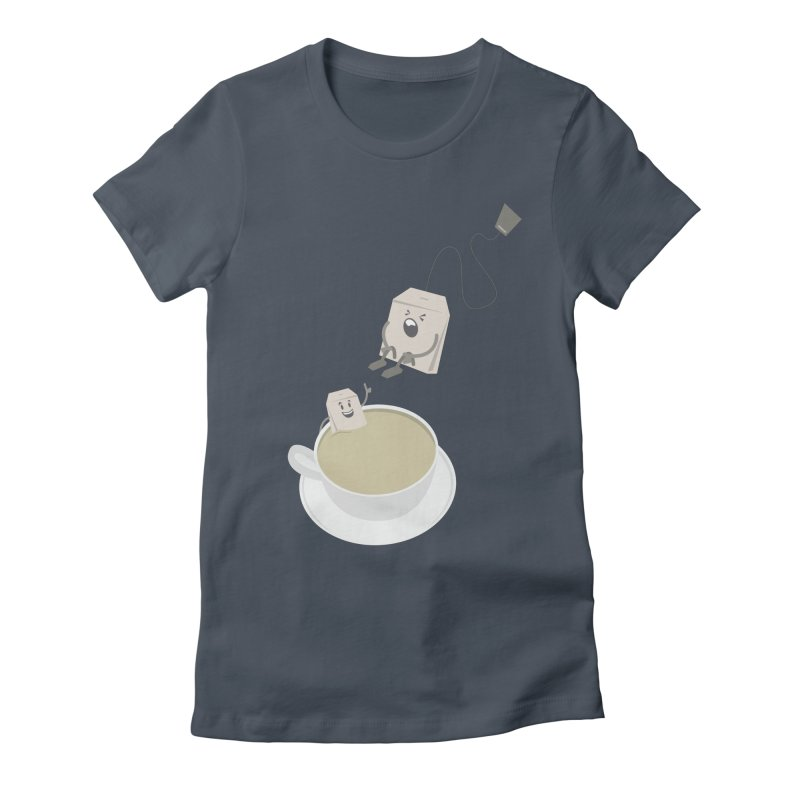 Tea for two Women's Fitted T-Shirt by dirtelawndre's Artist Shop