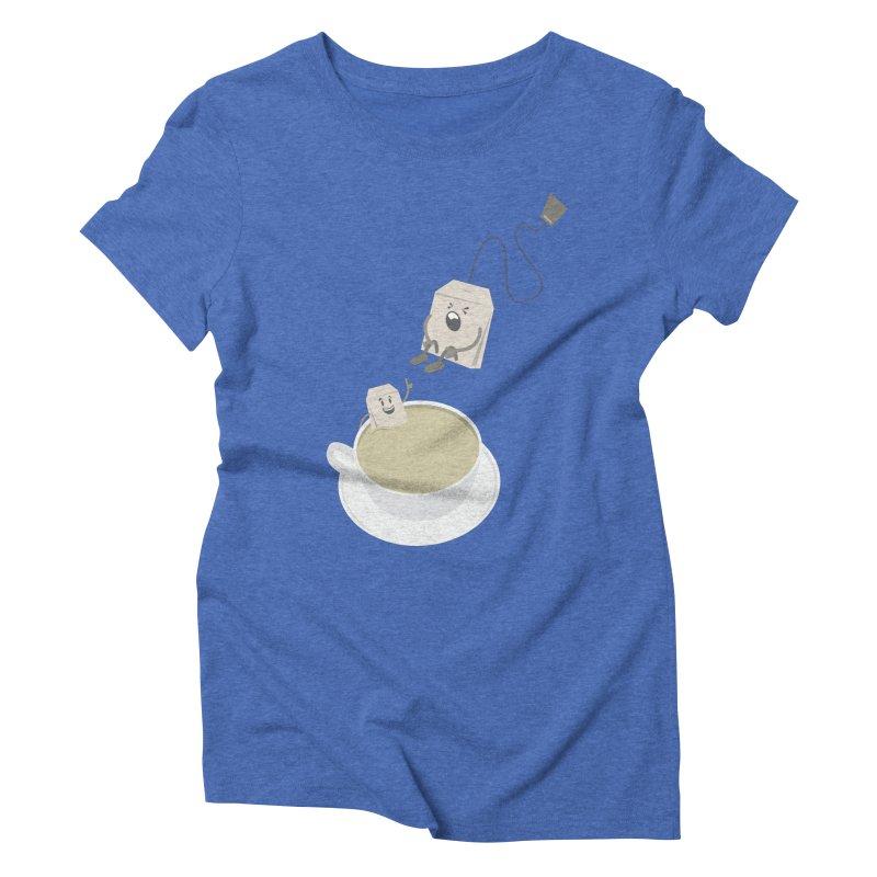 Tea for two Women's Triblend T-Shirt by dirtelawndre's Artist Shop