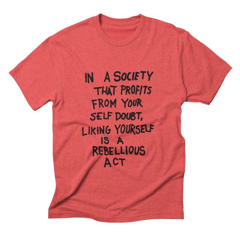 Men's Triblend T-shirt by DIRTWORSHIP