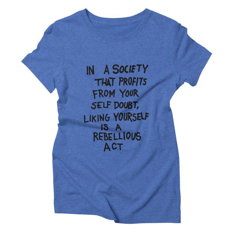 Women's Triblend T-shirt by DIRTWORSHIP