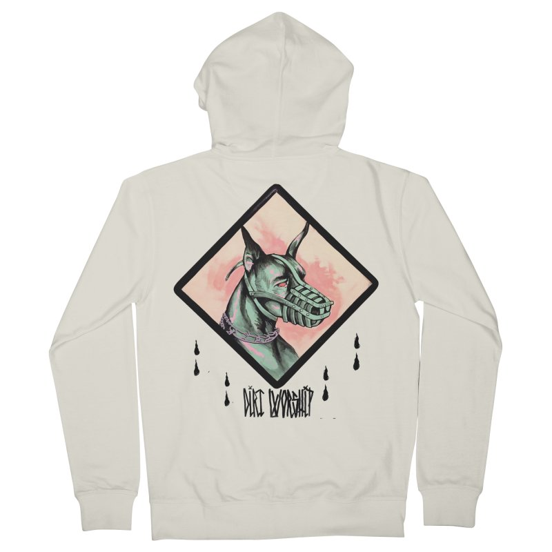 DOG Men's French Terry Zip-Up Hoody by DIRTWORSHIP