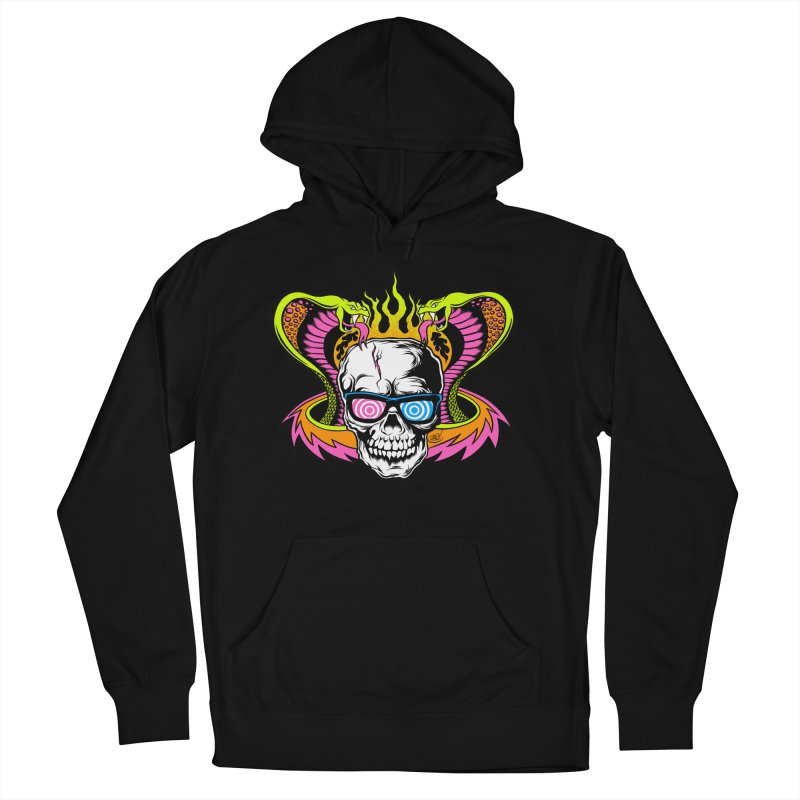 Mind Melter Men's French Terry Pullover Hoody by Dirty Donny's Apparel Shop