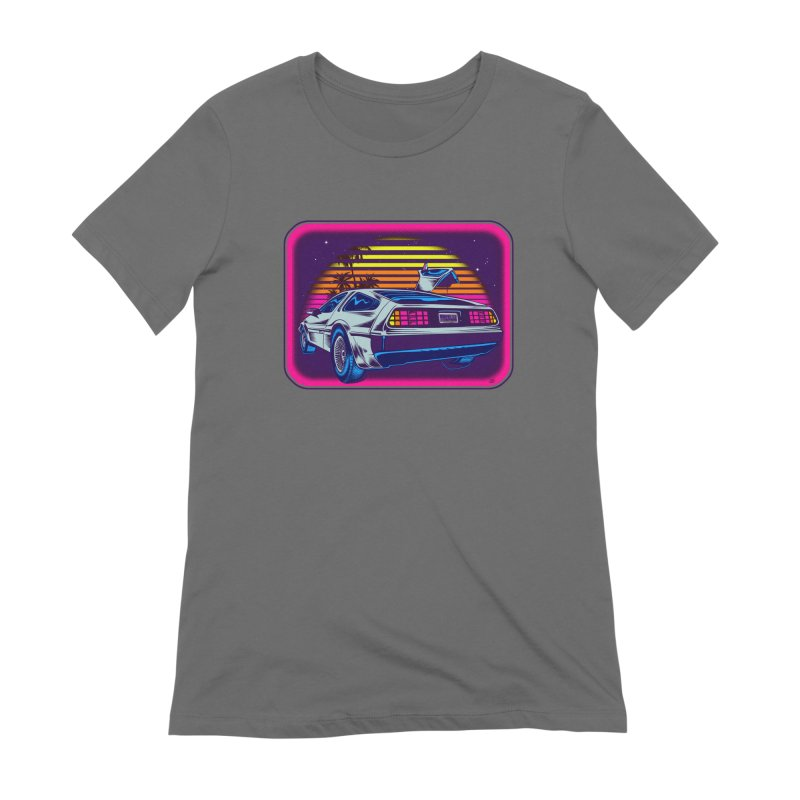 Time Flyz Women's T-Shirt by Dirty Donny's Apparel Shop