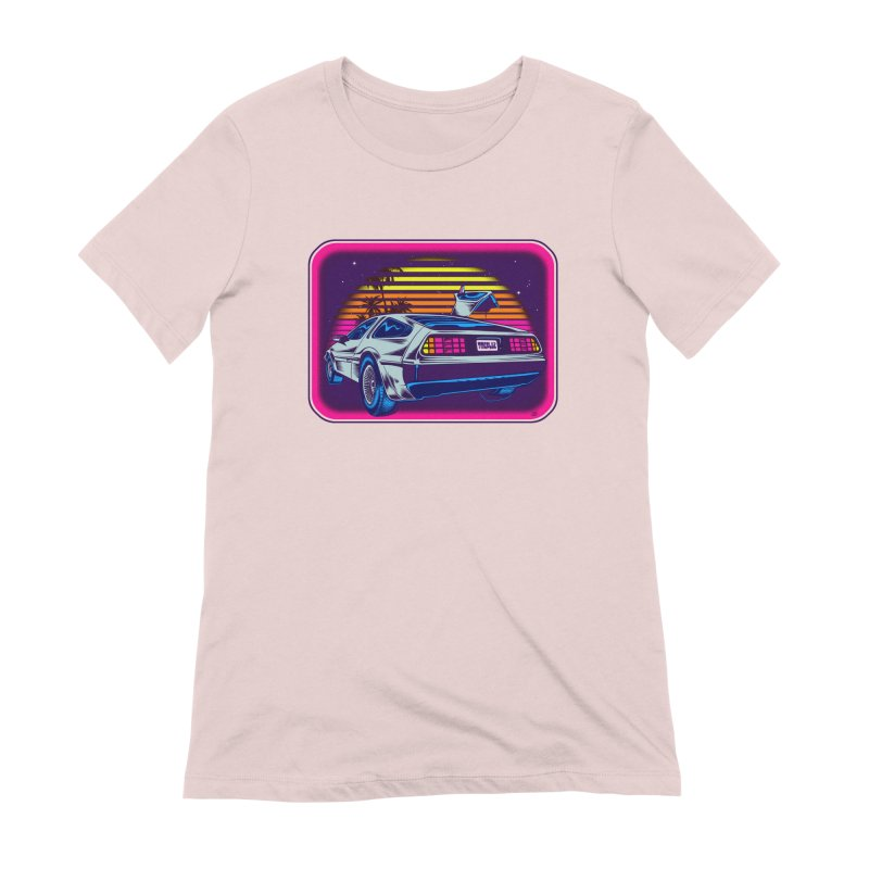 Time Flyz Women's Extra Soft T-Shirt by Dirty Donny's Apparel Shop