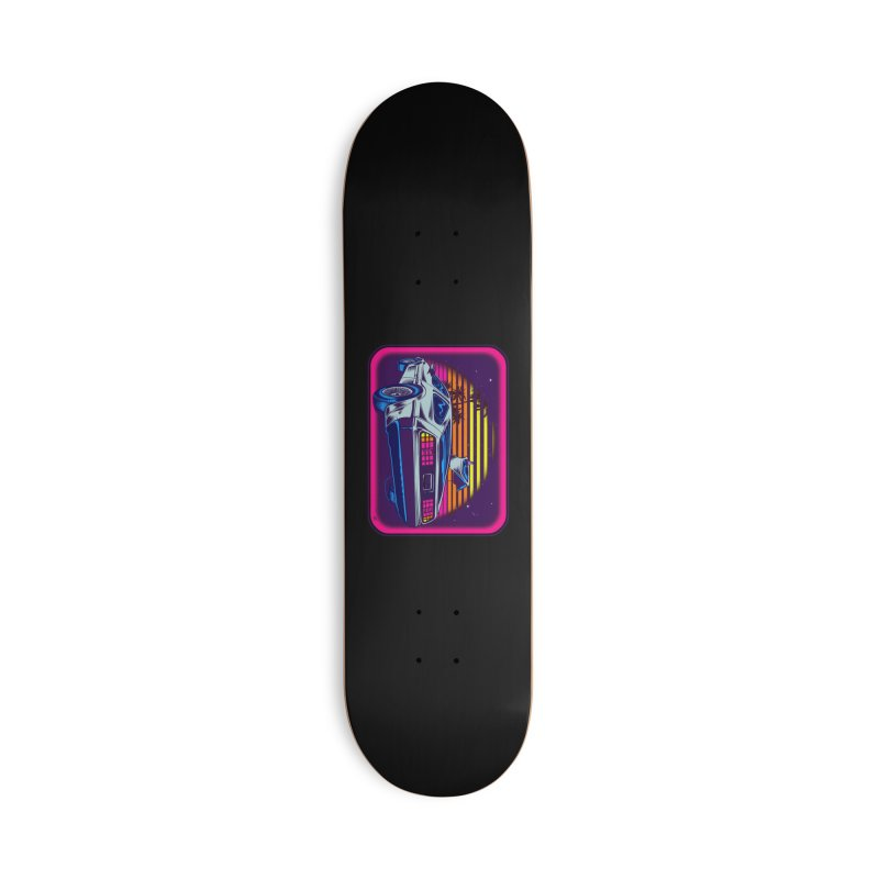 Time Flyz Accessories Deck Only Skateboard by Dirty Donny's Apparel Shop