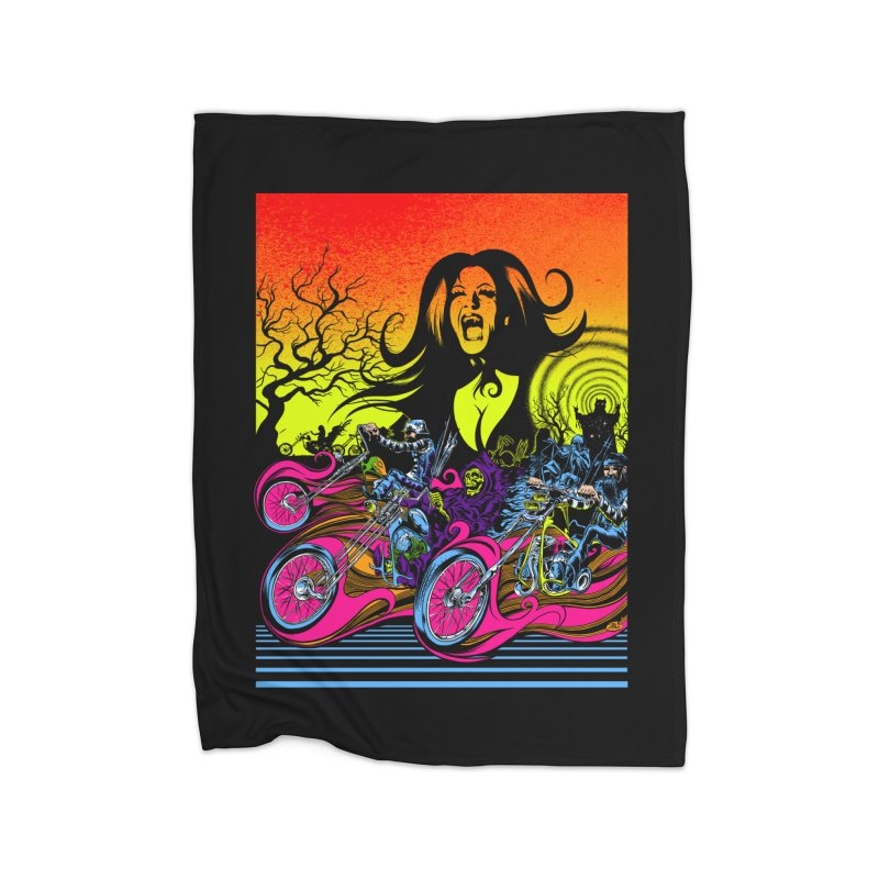 Acid Eaters Home Blanket by Dirty Donny's Apparel Shop