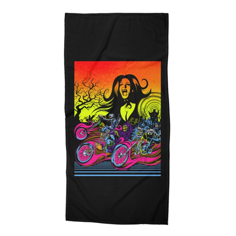 Acid Eaters Accessories Beach Towel by Dirty Donny's Apparel Shop