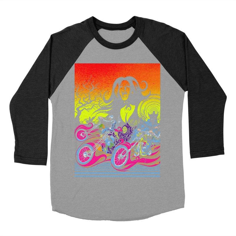 Acid Eaters Women's Baseball Triblend Longsleeve T-Shirt by Dirty Donny's Apparel Shop