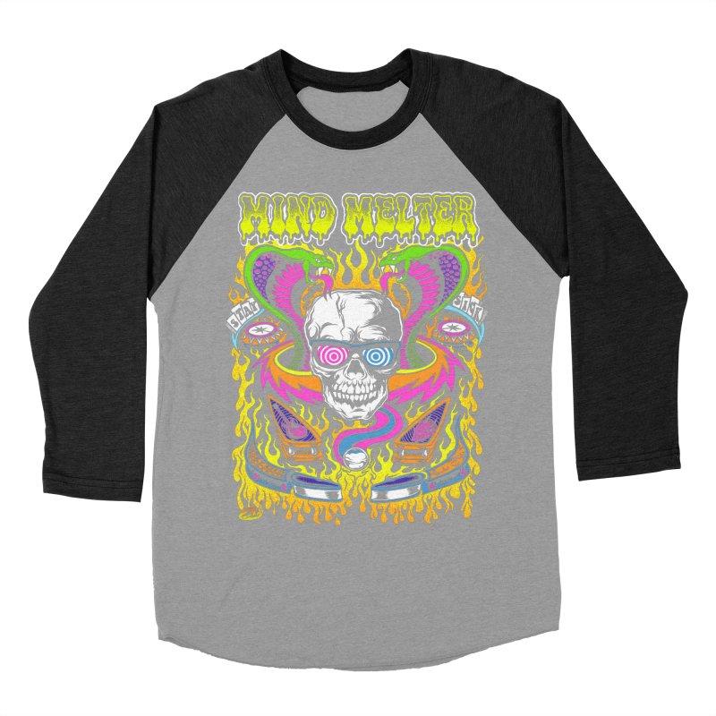 Mind Melter Women's Baseball Triblend Longsleeve T-Shirt by Dirty Donny's Apparel Shop