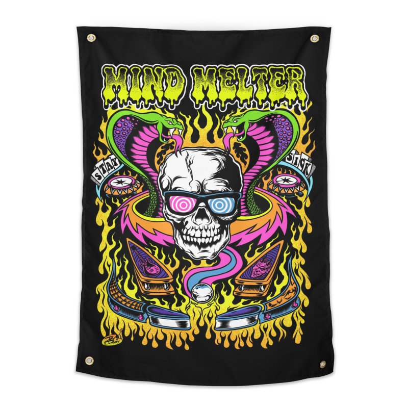 Mind Melter Home Tapestry by Dirty Donny's Apparel Shop