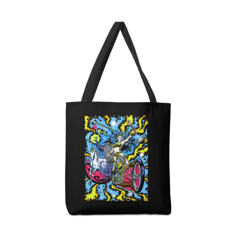 Blacklight Rebellion Accessories Tote Bag Bag by Dirty Donny's Apparel Shop