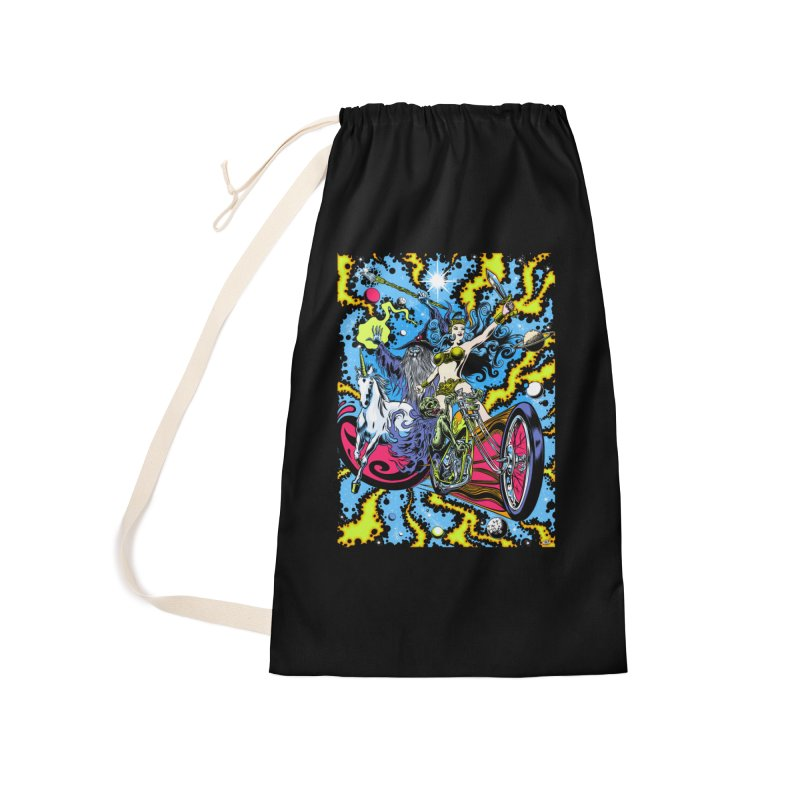Blacklight Rebellion Accessories Laundry Bag Bag by Dirty Donny's Apparel Shop