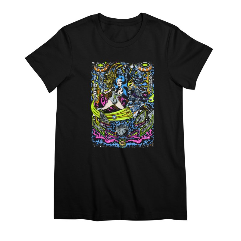 Cosmic Bounty Women's Premium T-Shirt by Dirty Donny's Apparel Shop
