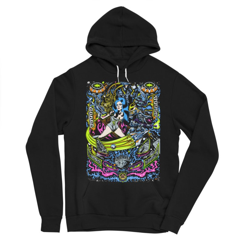 Cosmic Bounty Women's Sponge Fleece Pullover Hoody by Dirty Donny's Apparel Shop