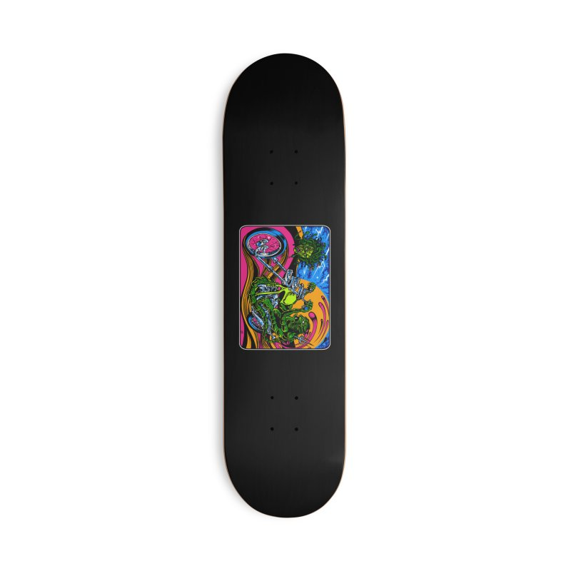 Gettin Stoned Accessories Deck Only Skateboard by Dirty Donny's Apparel Shop