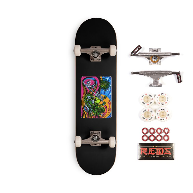 Gettin Stoned Accessories Complete - Pro Skateboard by Dirty Donny's Apparel Shop